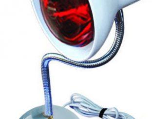 đèn hồng ngoại có tác dụng điều trị bệnh